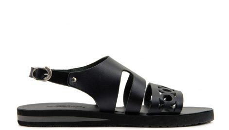 Pythais-Black-Sandals